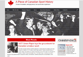 Canadian Sport History