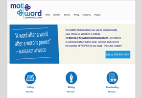Keywords Web site